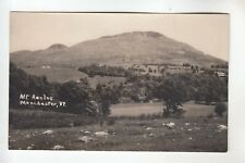 Real Photo Postcard Mount Aeolus Manchester VT