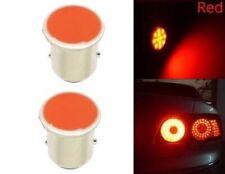 Ampoule BAY15D LED P21/5W COB Rouge Veilleuse pour Feux Stop Arrière 12v 2pcs