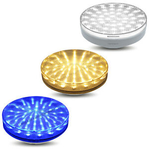 GX53 LED SMD 3W Light Bulb Replacement for CFL GX53 Warm White Blue Cool white