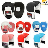 Focus Pads Hook Jab Mitts Boxing Bag Gloves New MMA Sparring Gym Punch Training