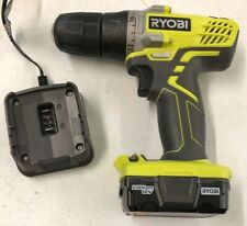 "Ryobi HJP004L 12V Li-ion 3/8"" Cordless Drill/Driver Kit OPEN BOX"