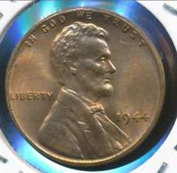 United States, 1944 Lincoln Cent, Wheat Reverse - Choice Uncirculated