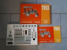 Junior Trix 2 Metallbaukasten Metall Baukasten 58 5002 00, nicht komplett