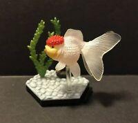 Kaiyodo Wing Mau Beam Tancho Red Cap Oranda Goldfish Fish Figure Model Diorama