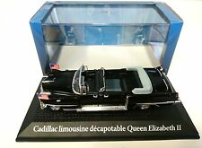 Cadillac Limo Convertible Eisenhower Queen Eliza 1:43 Norev Diecast Model Car