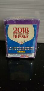 Panini Russia 2018 World Cup sticker box - 50 packs - sealed - (PINK BACKS)