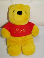 Walt Disney Productions Tokyo Japan Disneyland Winnie The Pooh Plush 11""