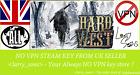 Hard West Steam key NO VPN Region Free UK Seller