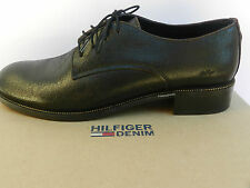 Tommy Hilfiger Mayke 11A Chaussures Femme 41 Derbies Mocassins Brogues UK7 Neuf