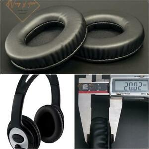 Soft Leather Ear Pads Foam Cushion For Microsoft LifeChat LX-3000 LX3000 Headset