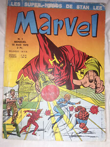 Marvel 1 - Lug - 1970 - Comics