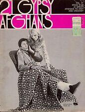 Jack Frost Vol 87 Gypsy Afghans Easy Beginner Knitting Crochet 21 Patterns 1972