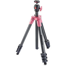 Manfrotto MKCOMPACTLT-PK Compact Light Aluminum Tripod(Pink) No Fees! EU Seller!