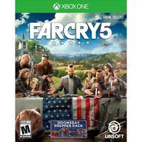 Far Cry 5 (Xbox One) FARCRY 5 NEW SEALED