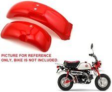 Red Color Plastics Plastic fender kit Honda Mini Trail Monkeybike Z50 50R U PS64