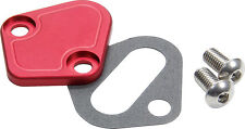 Allstar ALL40305 BB Chevy Fuel Pump Block-Off Plate Red