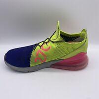 NIKE AIR Mens 270 FlynitSize US 11 Purple/green/pink Sneakers A01023-501 EUR 45