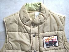 Chevrolet Chevy Cars Pick Up Truck 4x4 Patch Puffy Sleeveless Vest Jacket USED M