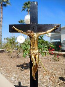 Italian Renaissance Guglielmo della Porta 1570 Gilt Bronze Jesus Christ Cross !