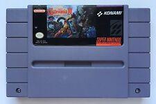 Super Nintendo SNES Super Castlevania IV 4 Authentic Video Game Cartridge