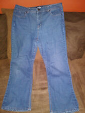 womens basic editions jeans bootcut size 16 short