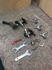 Beer Tap Keg Handle Lot Complete W/ Hose & Wrenches