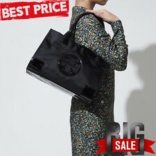 TORY BURCH Ella Mini Tote Women Bag Brand New with Tags Black Fast Free Shipping