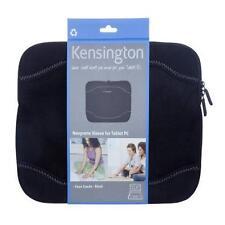 """Kensington Neoprene Netbook Sleeve- Faux Suede -Black 10.1""""-11.6"""""""