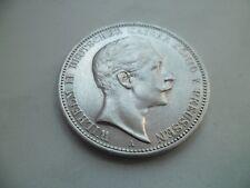 """Preußen: 3 Mark """"Kaiser Wilhelm II."""" 1912 -A- Silber !!!"""
