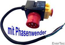 Geräteschalter Phasenwender 380-400V Maschinen Anschluss Schalter Haupt Schalter