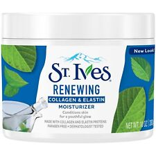 New St. Ives Collagen Elastin Facial Moisturizer 10 Oz.