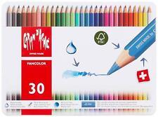 Caran d'Ache Matite Colorate FANCOLOR Scuola Scatola 30 Pastelli