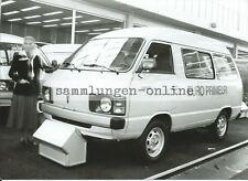 Toyota Lite Ace De Transporter Bus Auto Photographie Photo Presse Exposition