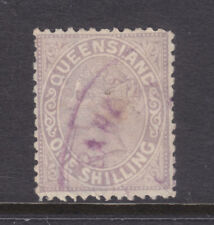 Qld: 1882 2Nd Sideface Qv 1/ Lilac Sg 172 F.Used.