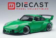 AUTOart 78151 Porsche RWB 993 (Green/Gun Grey Wheels) 1:18TH Scale
