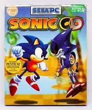 SONIC CD - PC ESPAÑA - CAJA GRANDE DE CARTON - SEGA PC