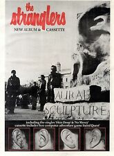17/11/84pg27 Album Advert 15x10 The Stranglers, Aural Sculpture