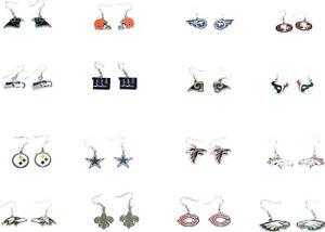 All Teams NFL Official Licensed dangle earrings 10023