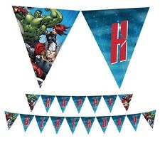 Avengers PRINTABLE PDF File Happy Birthday Party Banner