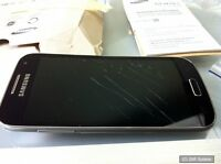 Samsung S4 mini Galaxy GT-I9195, 4.3, 540x960 Pixel, NEU, DEFEKT, DISPLAYBRUCH