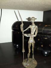 Don Quixote Figurine Vintage Bronze Ltd. Ed.