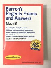 Barron's Regents Exams and Answers - Math B