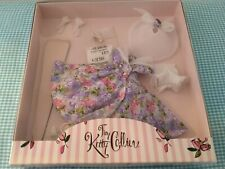 "Tonner Tiny Kitty Collier, Garden Party, 10"" doll, purple Floral dress, Mib"