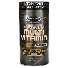 Muscletech Essential Series Platinum Multi Vitamin 90 Caplets Banned Substance