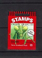 New Zealand: 1998  Insects, 'Creepy Crawlies'  SG SB 88, Self-adhesive.