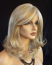 Curve Appeal Lace Front Mono Part Heat Friendly Wig BISCUIT  BLOND AUTHENTIC