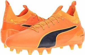 PUMA Evotouch 1 FG Men's Firm Ground Soccer Cleats(Without Box)