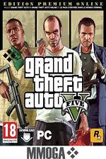 Grand Theft Auto V - Premium Online Edition - PC clé de jeu Rockstar - FR&EU