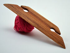 "4.5"" Weaving Shuttle For Inkle Loom Tablet Or Card Weaving - Handcrafted Red Oak"