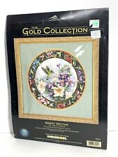 New ListingDimensions The Gold Collection cross stitch kit Sweet Nectar 35011 1999 Rare